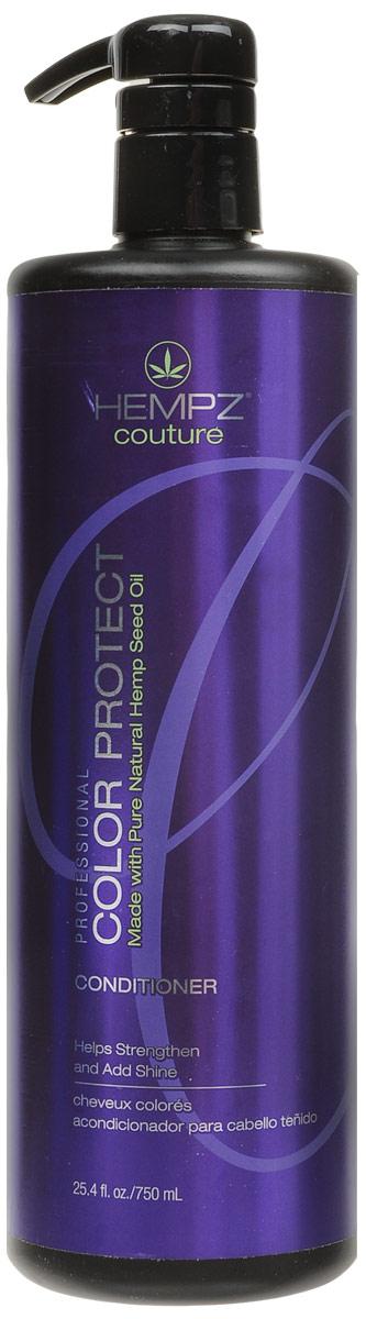 Hempz Кондиционер защита цвета окрашенных волос Color Protect Conditioner 750 мл676280012271Кондиционер для защиты цвета окрашенных волос Color Protect Conditioner эффективно следит за балансом влаги, надолго сохраняет и поддерживает цвет волос в первоначальном состоянии, оберегает их от термического воздействия потоков горячего воздуха и солнечного излучения. Активно предотвращает вымывание цвета, блокирует действие жестких компонентов воды. Color Protect Conditioner не содержит глютенов и парабенов и на 100% состоит из натуральных растительных компонентов.Состав активных компонетов: аминокислоты, масло, протеины, смола и экстракт семян конопли, пантенол, масло подсолнечника, аминокислоты шелка, минеральные соли.Уважаемые клиенты! Обращаем ваше внимание на возможные изменения в дизайне упаковки. Качественные характеристики товара остаются неизменными. Поставка осуществляется в зависимости от наличия на складе.