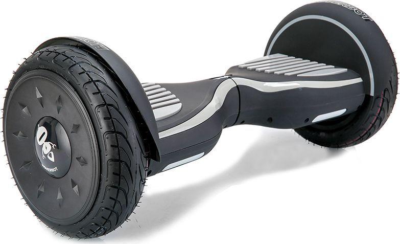 Гироскутер Hoverbot C-2, цвет: Matte Black Grey (матовый черно-серый)GC2BGYSГироскутер Hoverbot С-2 - это стильный дизайн, неизменное качество, мощность и отличная управляемость, более высокая степень пыле- и влаго- защиты всех жизненно важных элементов гироскутера. Единственный в своем роде 10 внедорожник с мощными моторами в 1000W. Имеет дутый дизайн корпуса, который отлично вписывается как в городские условия, так и в ландшафт парковых зон. У гироскутера Hoverbot С-2 большие надувные колеса, в которых, при желании, можно снизить давление воздуха и тем самым увеличить проходимость во внедорожных условиях, например, по песку или земле.Функция Самобаланса при включении позволит автоматически приводить устройство в рабочее положение. Дополнительная амортизация и широкая платформа под ногами помогают уверенней себя чувствовать и быть всегда на высоте.Разгон у гироскутера плавный, развивает максимальную скорость 16 км/ч.К Hoverbot C-2 можно подключиться по Bluetooth для прослушивания любимой музыки, различных аудиофайлов или радио. Так же для гироскутера C-2 разработано специальное мобильное приложение Hoverbot, которое позволяет подключиться к устройству и менять режимы работы - скорость, разгон, плавность хода и еще целый ряд параметров.Стандартный пароль для подключения к любому гироскутеру Hoverbot с приложением: 000000.Гаджет Hoverbot C-2 идеально подойдет и ребенку, и взрослому человеку как на начальном, так и на продвинутом уровне.Яркий, качественный, мощный. Это именно то, что сочетает в себе флагманский гироскутер компании Hoverbot.