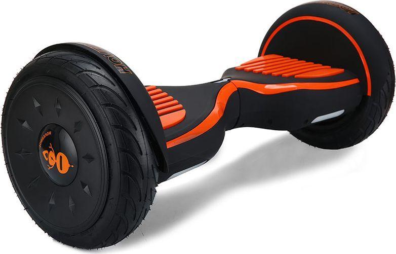 Гироскутер Hoverbot C-2, цвет: Matte Black Orange (матовый черно-оранжевый)GC2BOESГироскутер Hoverbot С-2 - это стильный дизайн, неизменное качество, мощность и отличная управляемость, более высокая степень пыле- и влаго- защиты всех жизненно важных элементов гироскутера. Единственный в своем роде 10 внедорожник с мощными моторами в 1000W. Имеет дутый дизайн корпуса, который отлично вписывается как в городские условия, так и в ландшафт парковых зон. У гироскутера Hoverbot С-2 большие надувные колеса, в которых, при желании, можно снизить давление воздуха и тем самым увеличить проходимость во внедорожных условиях, например, по песку или земле.Функция Самобаланса при включении позволит автоматически приводить устройство рабочее положение. Дополнительная амортизация и широкая платформа под ногами помогают уверенней себя чувствовать и быть всегда на высоте.Разгон у гироскутера плавный, развивает максимальную скорость 16 км/ч.К Hoverbot C-2 можно подключиться по Bluetooth для прослушивания любимой музыки, различных аудиофайлов или радио. Так же для гироскутера C-2 разработано специальное мобильное приложение Hoverbot, которое позволяет подключиться к устройству и менять режимы работы - скорость, разгон, плавность хода и еще целый ряд параметров.Стандартный пароль для подключения к любому гироскутеру Hoverbot с приложением: 000000.Гаджет Hoverbot C-2 идеально подойдет и ребенку, и взрослому человеку как на начальном, так и на продвинутом уровне.Яркий, качественный, мощный. Это именно то, что сочетает в себе флагманский гироскутер компании Hoverbot.