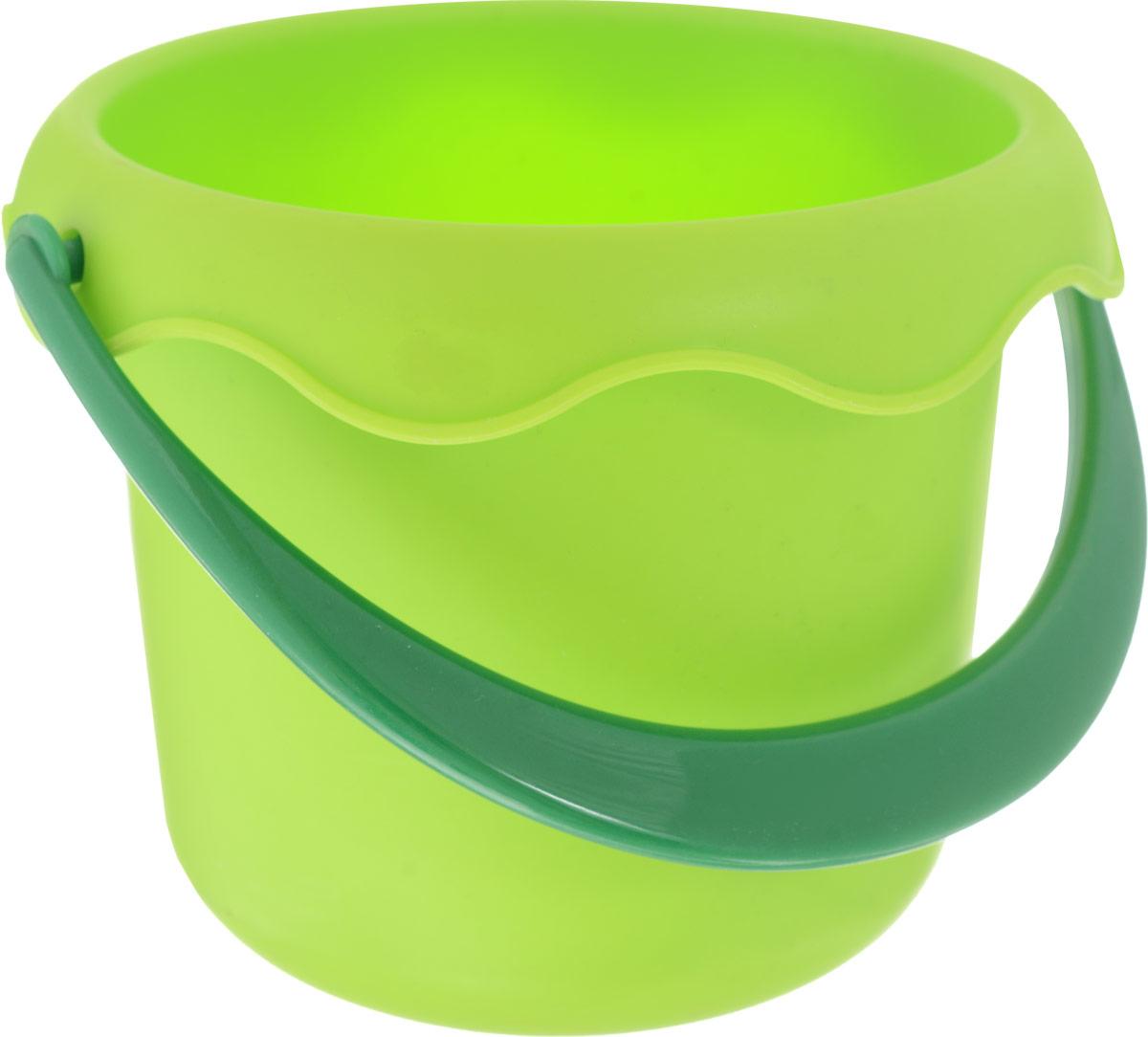 Baby Trend Игрушка для песочницы Ведро маленькое цвет салатовый