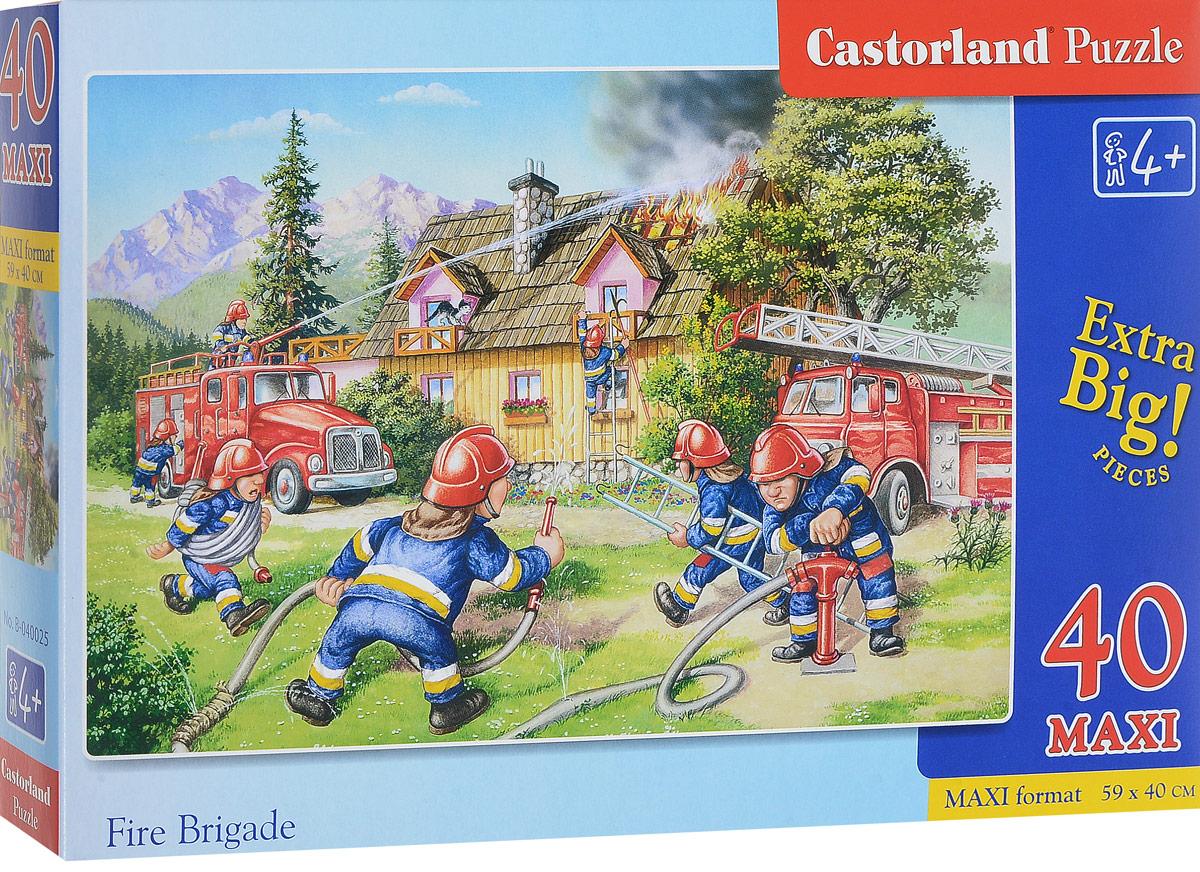 Castorland Пазл Пожарные 40 элементов, Castorland Puzzle