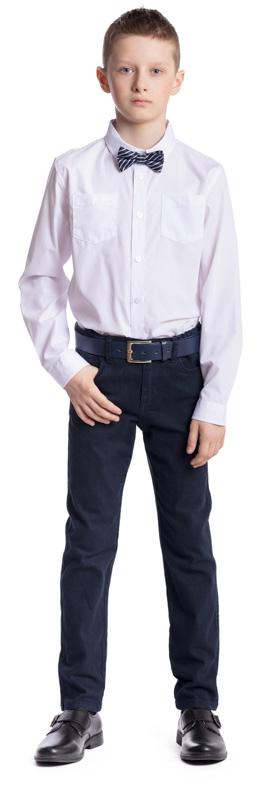 Джинсы для мальчика Scool, цвет: темно-синий. 373433. Размер 122, 7 лет373433Практичные удобные джинсы для мальчика Scool изготовлены из хлопка с добавлением эластана. Модель застегивается спереди на пуговицу, а также имеет ширинку на застежке-молнии. На поясе предусмотрены шлевки для ремня. Спереди расположены два втачных кармана и один маленький накладной, сзади - два накладных кармана.