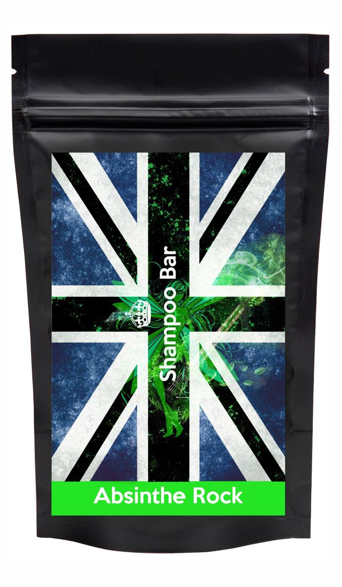 Shampoo Bar Твердый шампунь для длительной чистоты 6в1 Absinthe Rock, с полынью и анисом, женский, 80 грSB ARWТвердый шампунь Shampoo Bar Absinthe Rockс полынью и анисовым маслом для длительной чистоты ваших волос, в оригинальной упаковке от самого рок-н-рольного дизайнера.