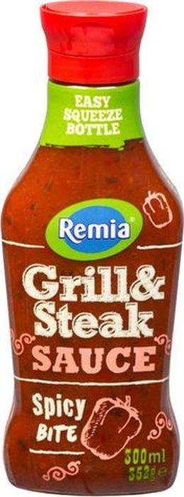 Remia Partysauc соус Гриль&Стейк, 300 мл10.43.31Отличное сопровождение для сочного стейка, шашлыка, колбасок гриль и картофеля. Пищевая ценность в 100 г: углеводы - 41,0 г, в т.ч. сахар - 36 г, жиры - 1,1 г, в т.ч. насыщенные - 0 г, белки - 1,3 г, натрий - 3,8 г.