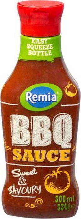Remia Partysauc BBQ соус пикантный, 300 мл10.43.33Пикантный соус с помидорами и паприкой. Хорошо подходит к мясным блюдам, к рыбным, к морепродуктам. Отличное дополнение ко многим блюдам азиатской кухни.Пищевая ценность в 100 г: углеводы - 26,0 г, в т.ч. сахар - 21 г, жиры - 0 г, в т.ч. насыщенные - 0 г, белки - 1,0 г, натрий - 1,6 г.