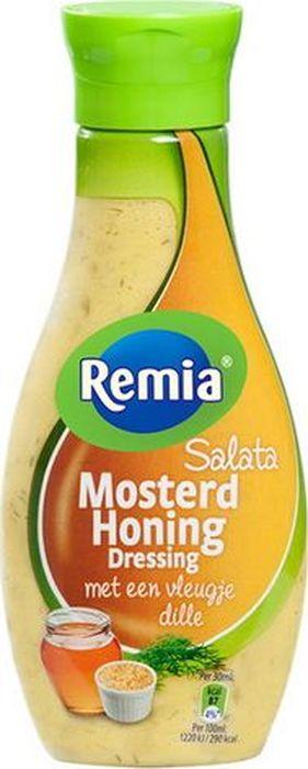 Remia Salata Hohey Mustard Dress соус салатный горчично-медовый, 250 мл10.43.35С медово-горчичным Remia вкус ваших любимых блюд станет ещё ярче! Прекрасно подойдет к салатам. Теперь лучшие секреты со всего мира открыты для вас!