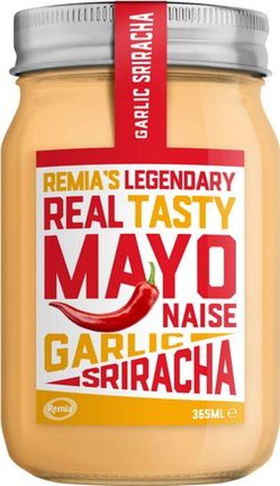 Remia майонез с чесноком и перцем чили, 365 мл купить японский майонез кюпи в ростове