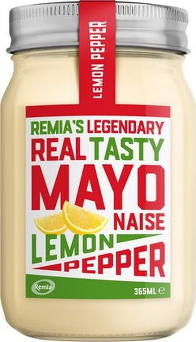 Remia майонез с лимоном и черным перцем, 365 мл купить японский майонез кюпи в ростове