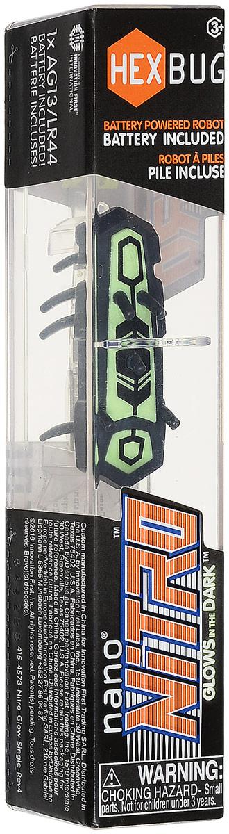 Hexbug Микро-робот Nano Nitro цвет черный зеленый