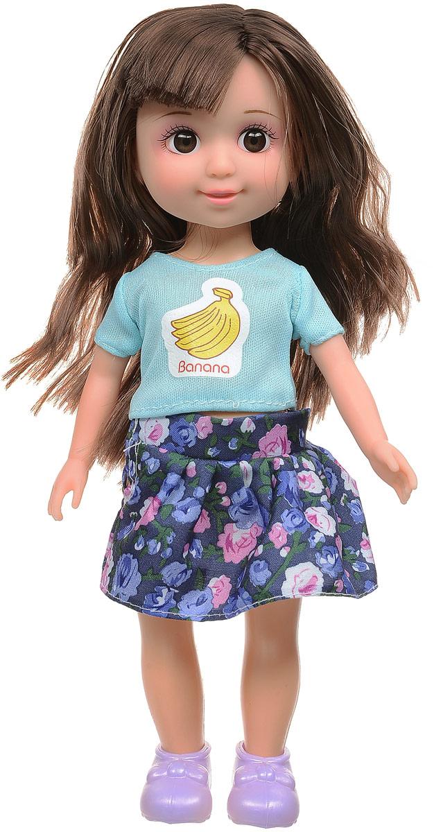 Yako Кукла Jammy брюнетка цвет одежды мятный синий розовый игра yako кухня y18614127