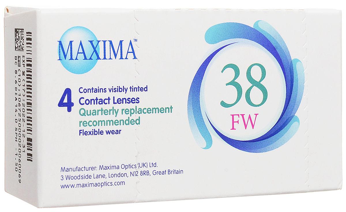Maxima контактные линзы 38 FW (4 шт / 8.6 / -1.50)