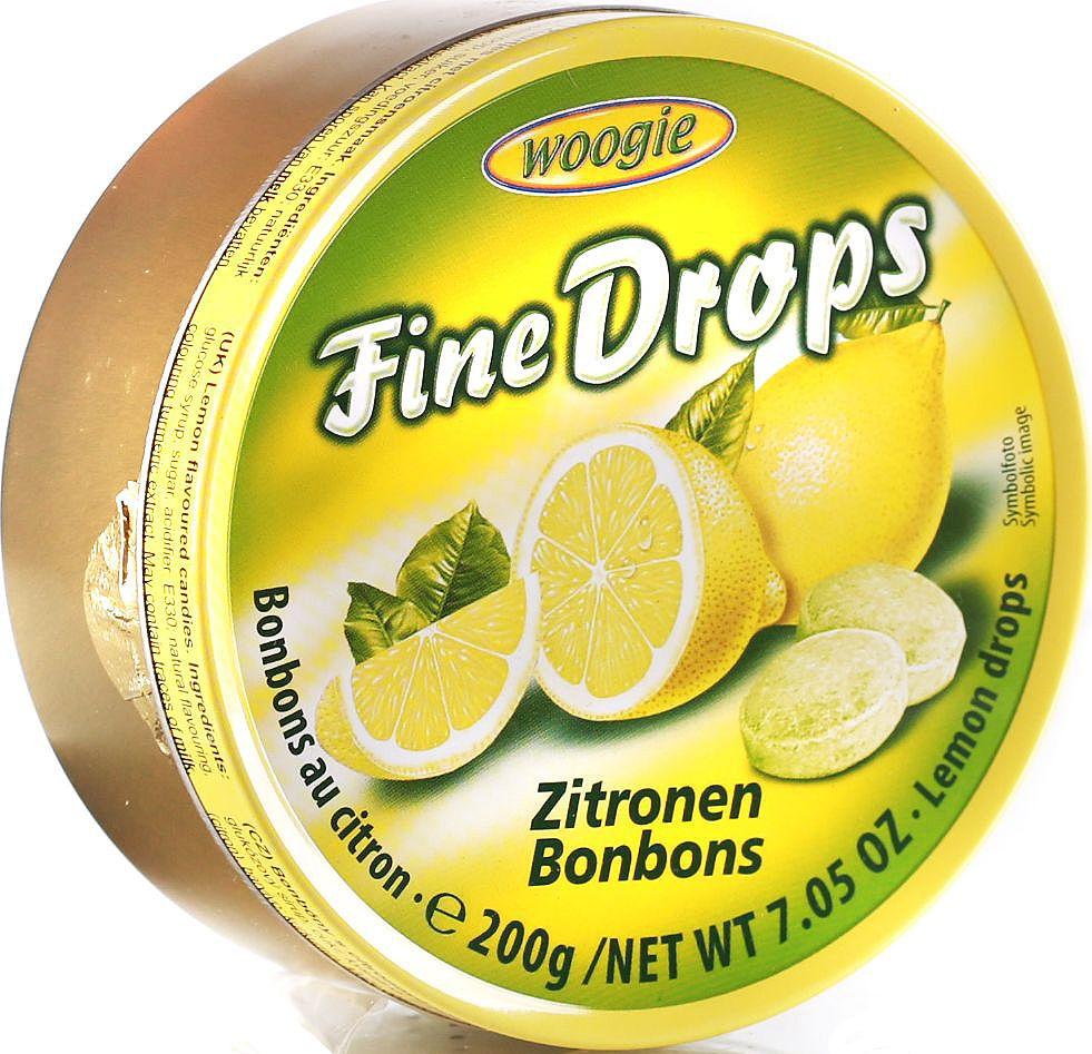 Woogie Лимон леденцы, 200 г6.4.14Леденцы со вкусом лимона.