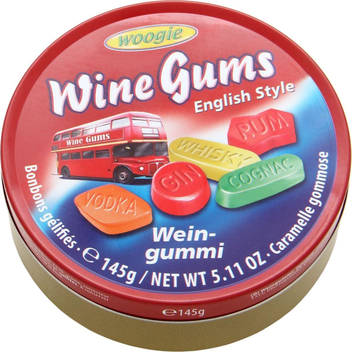 Woogie Ассорти жевательных конфет, 145 г6.4.34Ассорти жевательных конфет Вуги.