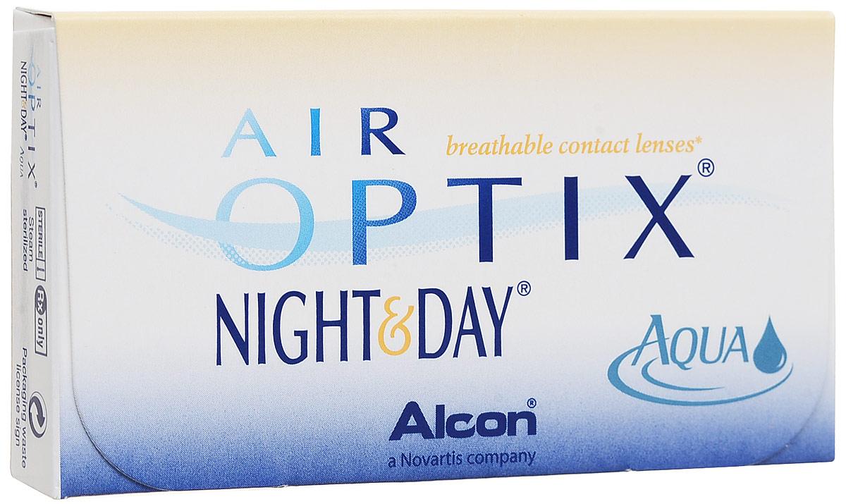 Alcon-CIBA Vision контактные линзы Air Optix Night & Day Aqua (3шт / 8.6 / -2.75)44397Само название линз Air Optix Night & Day Aqua говорит само за себя - это возможностьиспользования одной пары линз 24 часа в сутки на протяжении целого месяца! Это уникальныелинзы от мирового производителя Сiba Vision, не имеющие аналогов. Их неоспоримымпреимуществом является отсутствие необходимости очищения и ухода за линзами. Линзы рассчитаны на непрерывный график ношения. Изготовлены из современногобиосовместимого материала лотрафилкон А, который имеет очень высокий коэффициентпропускания кислорода, обеспечивая его доступ даже во время сна. Наивысшее пропускание кислорода! Кислородопроницаемость контактных линз Air Optix Night &Day Aqua - 175 Dk/t. Это более чем в 6 раз больше, чем у ближайших конкурентов. Еще одно отличие линз Air Optix Night & Day Aqua - их асферический дизайн. Множественныеклинические исследования доказали, что поверхность линз устраняет асферическиеаберрации, что позволяет вам видеть более четко и повышает остроту зрения. Ежемесячные контактные линзы Air Optix Night & Day Aqua характеризуются низкимсодержанием воды. Именно это позволяет снизить до минимума дегидродацию. В конце дня увас не возникнет ощущения сухости глаз или дискомфорта. С ними вы сможете наслаждатьсяжизнью. Контактные линзы Air Optix Night & Day Aqua смогли доказать, что непрерывноеношение линз - это безопасный и удобный метод коррекции зрения! Замена через 1 месяц. Характеристики:Материал: лотрафилкон А. Кривизна: 8.6. Оптическая сила:- 2.75. Содержание воды: 24%. Диаметр: 13,8 мм. Количестволинз: 3 шт. Размер упаковки: 9 см х 5 см х 1 см. Производитель:Индонезия. Товар сертифицирован. Уважаемые клиенты! Обращаем ваше внимание на то, что упаковка может иметь несколько видовдизайна.Поставка осуществляется в зависимости от наличия на складе. Контактные линзы или очки: советыофтальмологов. Статья OZON Гид