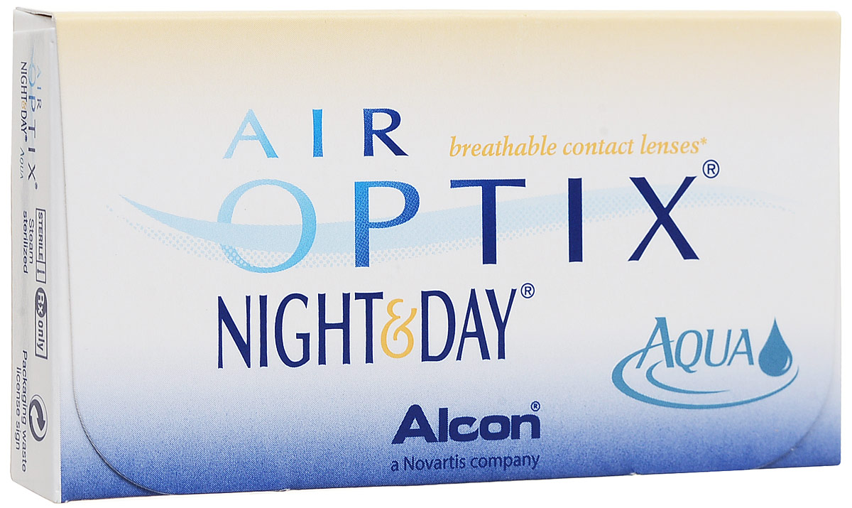 Alcon-CIBA Vision контактные линзы Air Optix Night & Day Aqua (3шт / 8.6 / -5.50)