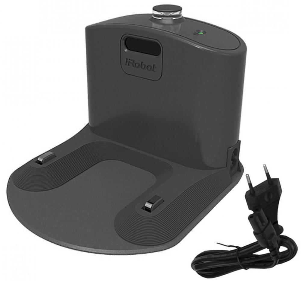 iRobot напольная зарядная база для Roomba с интегрированным зарядным устройством7700582Новая, более компактная и мощная, чем стандартные базы для дома. Она поддерживает роботы-пылесосы Roomba 600, 700, 800, 900 серии.Это самозаряжающаяся станция, куда Roomba сам подъезжает по окончании цикла уборки или когда аккумулятор садится. После парковки Roomba перезаряжает аккумулятор. Горящий индикатор зарядной базы показывает, что она подключена к сети и работает нормально. Индикатор должен гореть постоянным зеленым светом. Горящий индикатор стыковки на зарядной базе показывает, что Roomba успешно запарковался и заряжается.