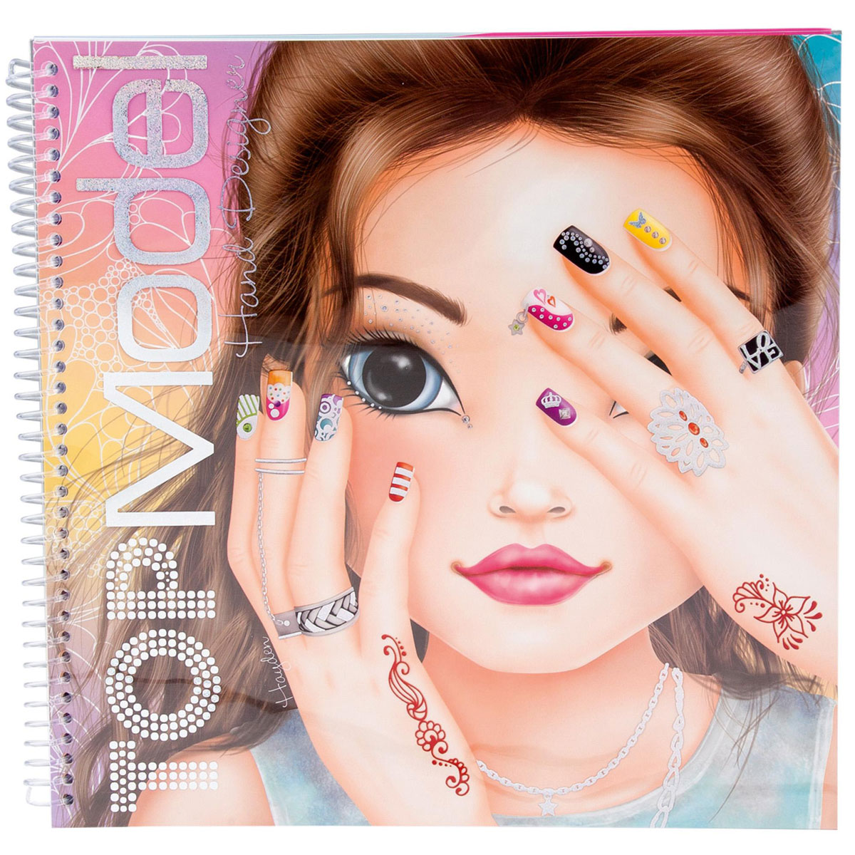 Top Model: Hand Designer Novelty. Раскраска (+ наклейки)
