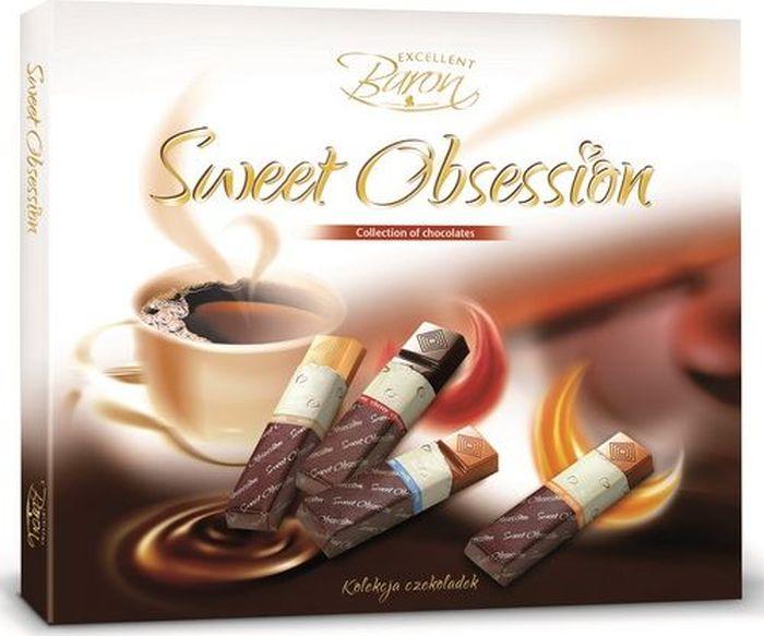 Baron Сладкое Наваждение шоколадный набор, 250 г чудесинка со вкусом шоколада