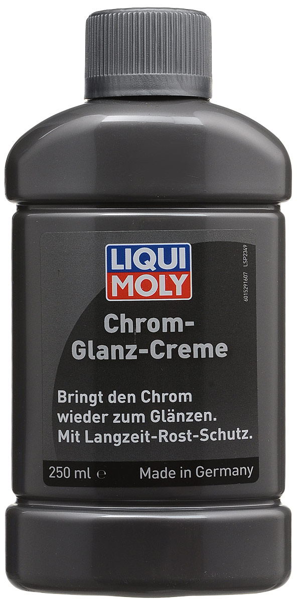 Полироль для хромированных поверхностей Liqui Moly, 250 мл полироль пластика goodyear атлантическая свежесть матовый аэрозоль 400 мл