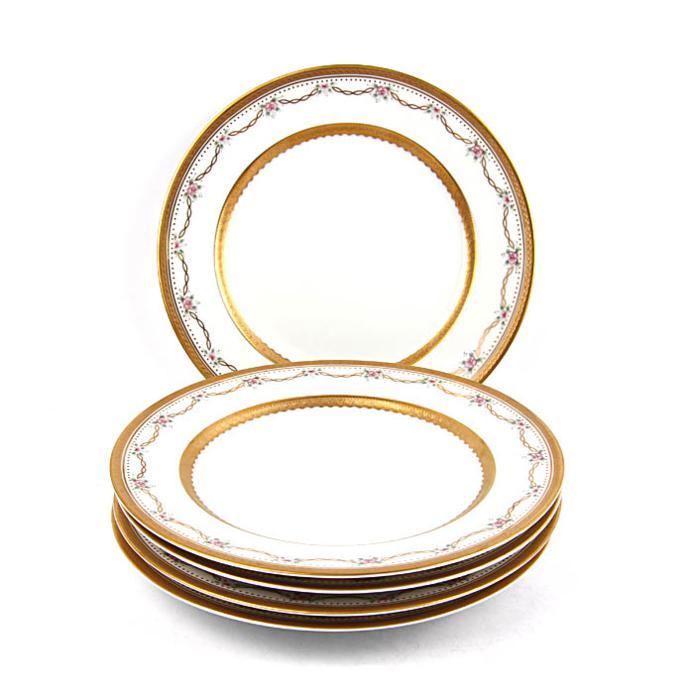 Комплект из 5-ти десертных  тарелок Фаберже