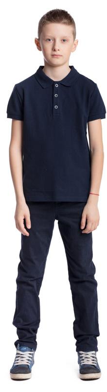 Поло для мальчика Scool, цвет: темно-синий. 373447. Размер 134, 9 лет373447Поло для мальчика Scool изготовлено из натурального хлопка. Свободный крой не сковывает движения ребенка. Модель с отложным воротником и короткими рукавами застегивается на пуговицы. Классическая футболка - поло подойдет для отдыха и прогулок, а также для занятий спортом.
