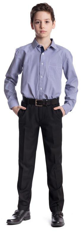 Рубашка для мальчика Scool, цвет: белый, синий. 373435. Размер 128, 8 лет373435Рубашка для мальчика Scool изготовлена из хлопка и полиэстера. Лекало этой модели полностью повторяет лекало модели для взрослого мужчины. Рубашка с отложным воротником и длинными рукавами застегивается на пуговицы. На груди расположен накладной карман. На рукавах предусмотрены манжеты с застежками-пуговицами. Модель хорошо сочетается с костюмом в деловом стиле и джинсами.