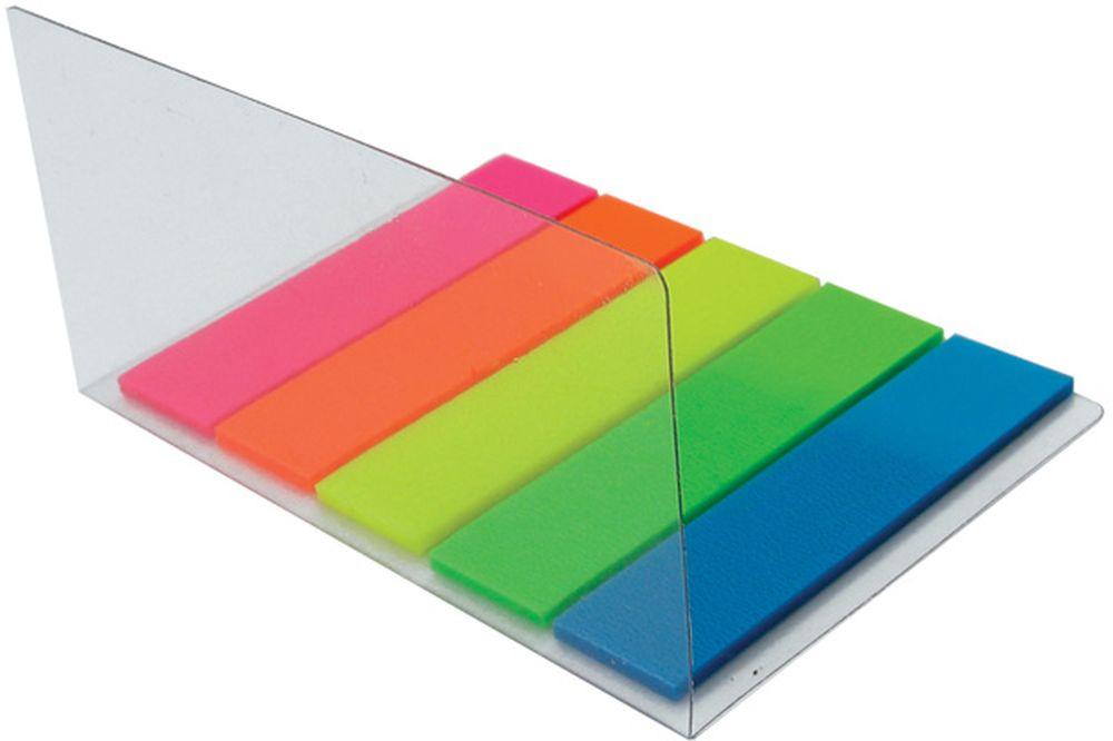 Brauberg Закладка с липким слоем 1,2 х 4,5 см 5 шт по 20 листов