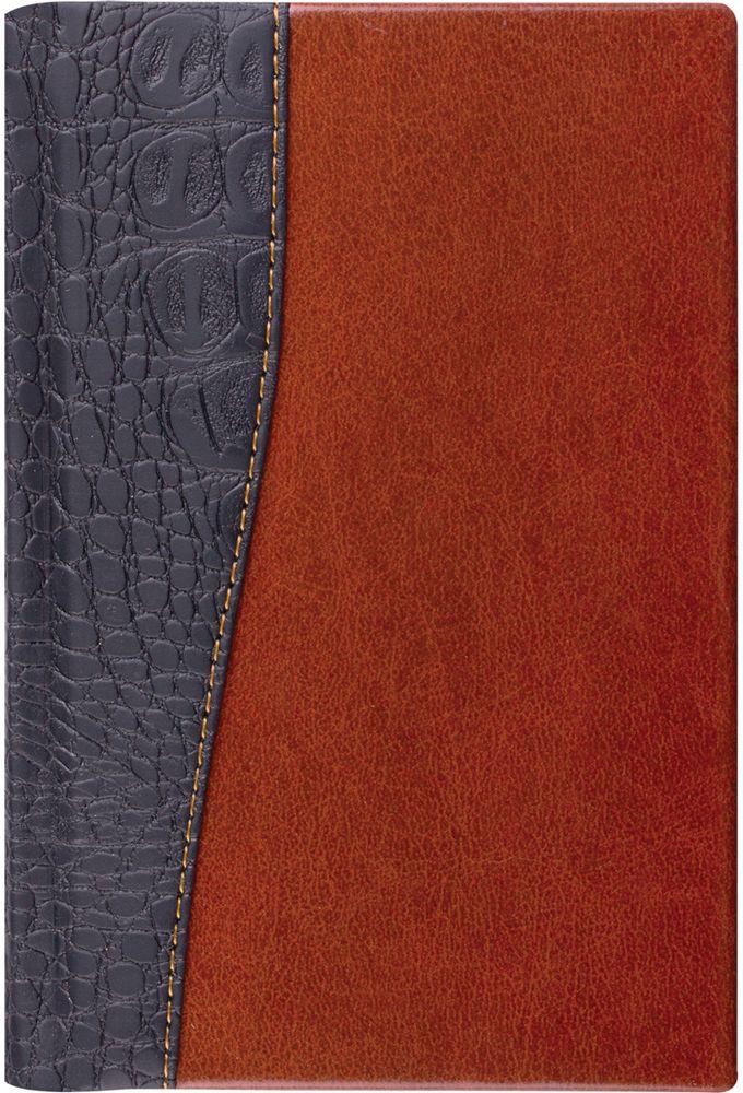 Brauberg Ежедневник Cayman недатированный 160 листов цвет черный коричневый формат A5125084Недатированный ежедневник BraubergCayman - обладает составляющими премиум класса: обложка - изысканная комбинация гладкойглянцевой кожи и материала, имитирующего кожу крокодила, внутренний блок - тонированная бумага с позолоченным боковым срезом. Особенности:- Закладка-ляссе. - Перфорация угла. - Обширный справочный материал. - Обложка подходит для горячего тиснения.