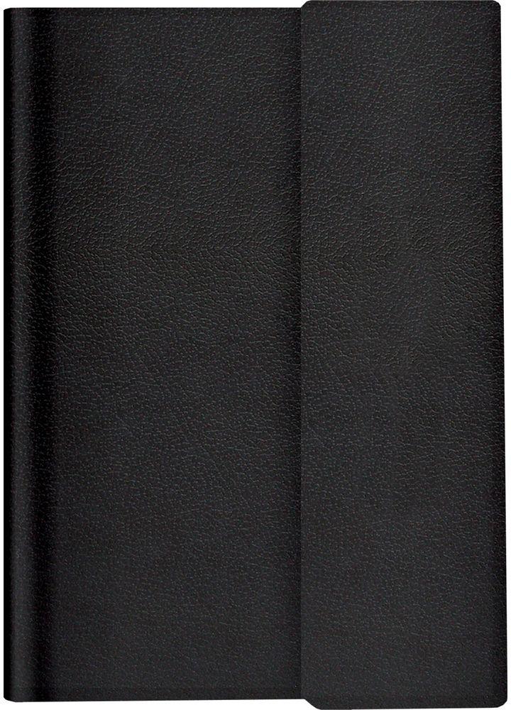 Brauberg Ежедневник Towny недатированный 160 листов цвет черный формат A5123785Ежедневник Brauberg Towny - надежный спутник делового человека. Обложка фиксируется магнитным клапаном либо резинкой-фиксатором, поэтому ежедневник не откроется в сумке или портфеле и страницы не помнутся.