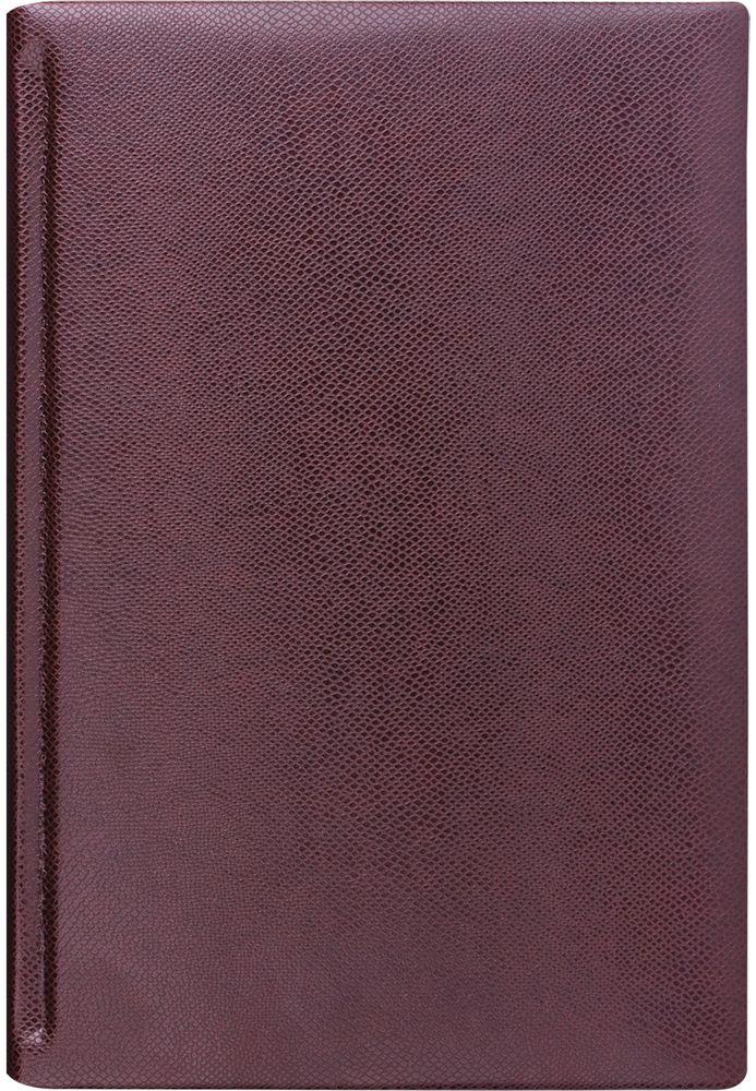 Brauberg Ежедневник Iguana недатированный 160 листов цвет коричневый формат A6125105Недатированный ежедневник Brauberg Iguana - считается, что вещи, сделанные из змеиной кожи, никогда не выйдут из моды. Модная фактура и насыщенные цвета придают изделиям особый шик и легкую загадочность.Особенности: - Печать в две краски.- Золотой срез.- Закладка-ляссе.- Перфорация угла.- Обширный справочный материал.- Обложка подходит для горячего тиснения.