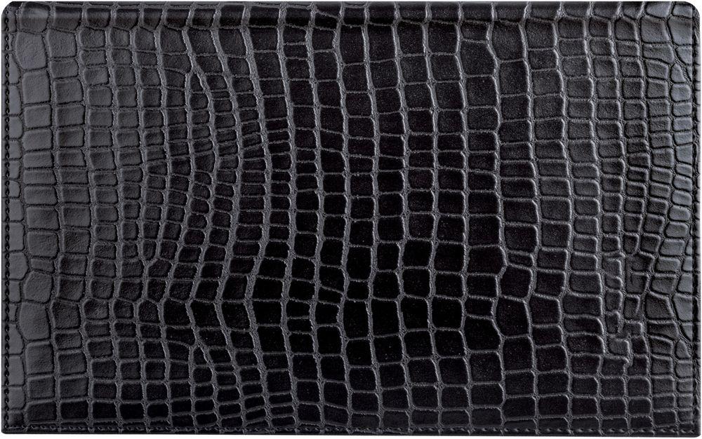 Brauberg Ежедневник Alligator недатированный 72 листа цвет черный формат A6 ежедневник brauberg imperial a5 138x213mm bordo 123415