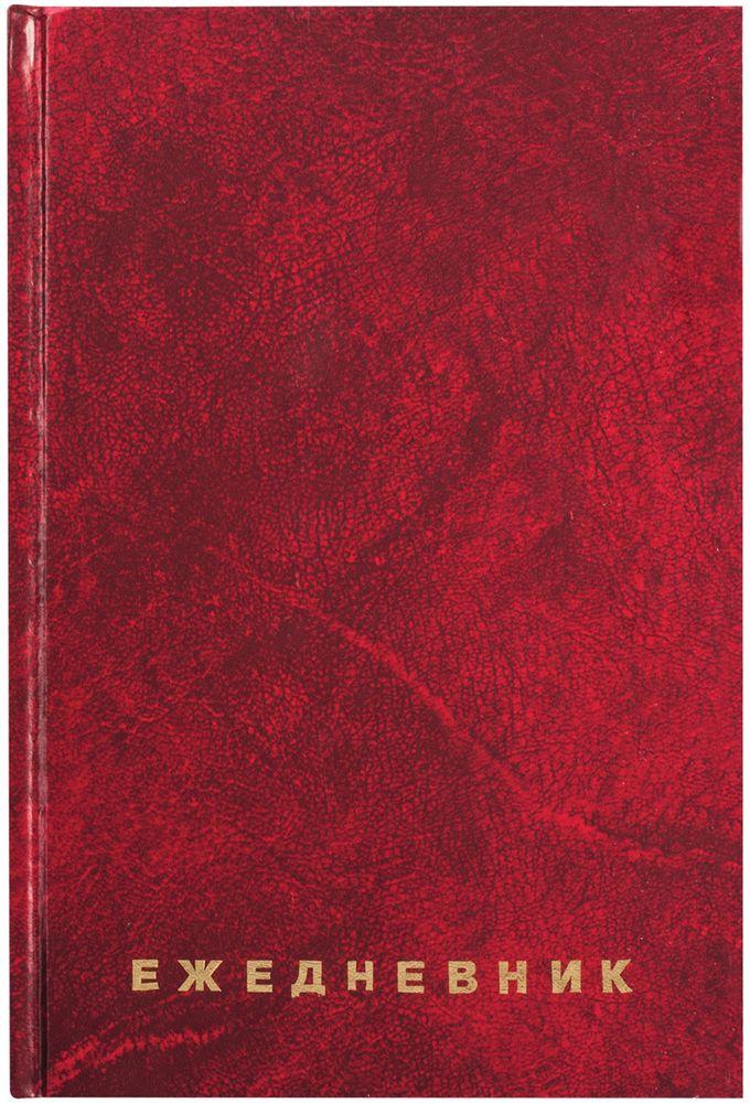 Brauberg Ежедневник недатированный 60 листов цвет бордовый формат A5 brauberg доска пробковая 60 х 90 см