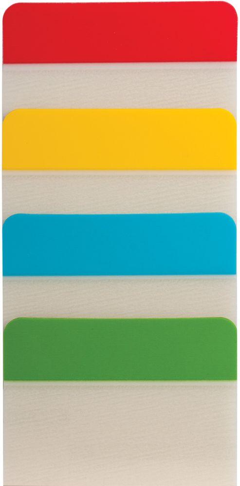 Brauberg Закладка-выделитель листов 3,8 х 5,1 см 4 шт по 6 листов