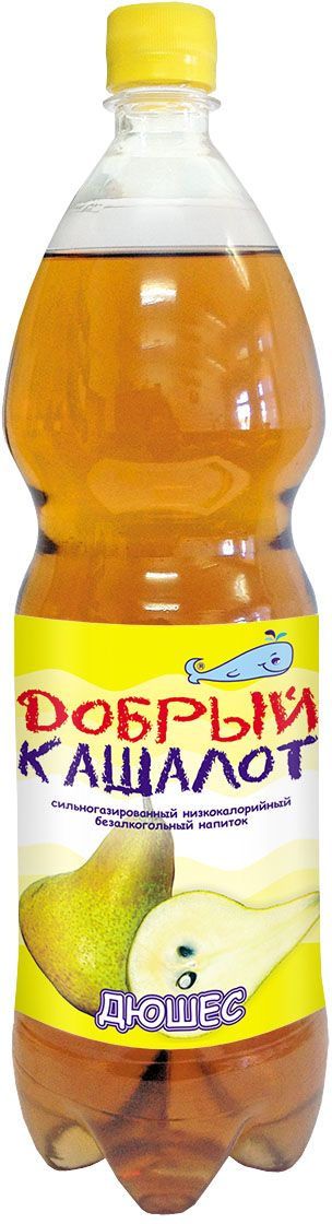 Добрый кашалот напиток газированный Дюшес, 1,5 л