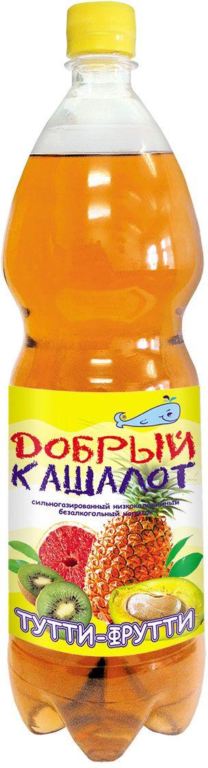 Добрый кашалот напиток газированный Тутти-фрутти, 1,5 л