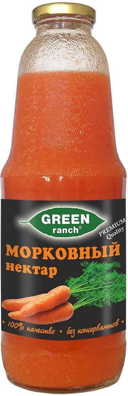Green Ranch нектар морковный, 1 л4610008504552Морковное утоление жажды, польза в каждой капле.
