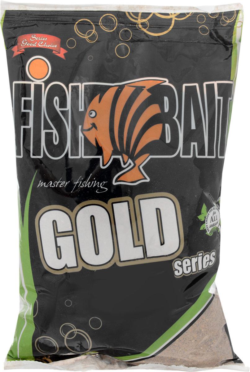 Прикормка для рыб FishBait Фидер Лещ-Плотва, 1 кг