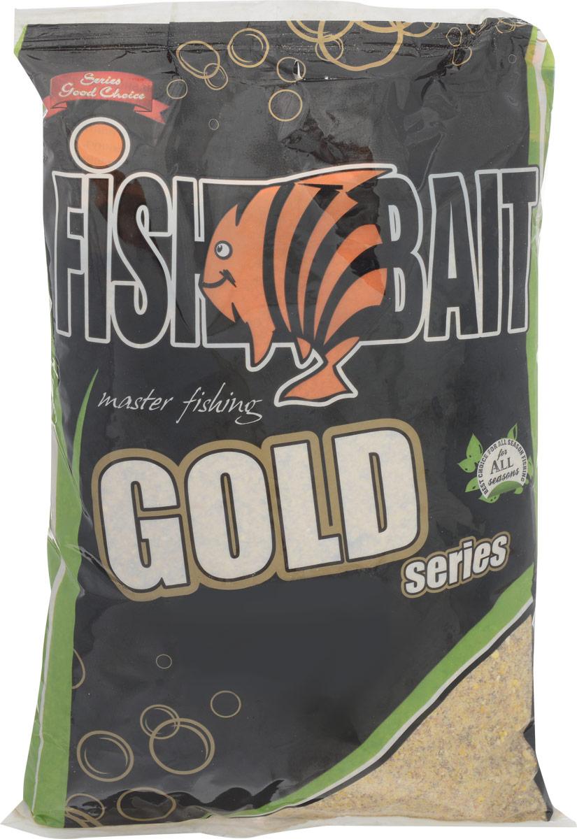 Прикормка для рыб FishBait Карп, 1 кг