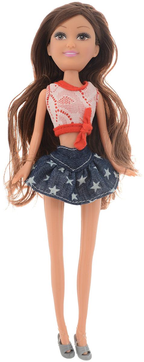 Funville Кукла Sparkle Girl Модница цвет наряда красный синий кукла funville модница 20 см 240105