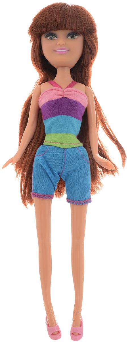 Funville Кукла Summer Fun цвет наряда голубой funville кукла sparkle girlz модница цвет наряда красный синий