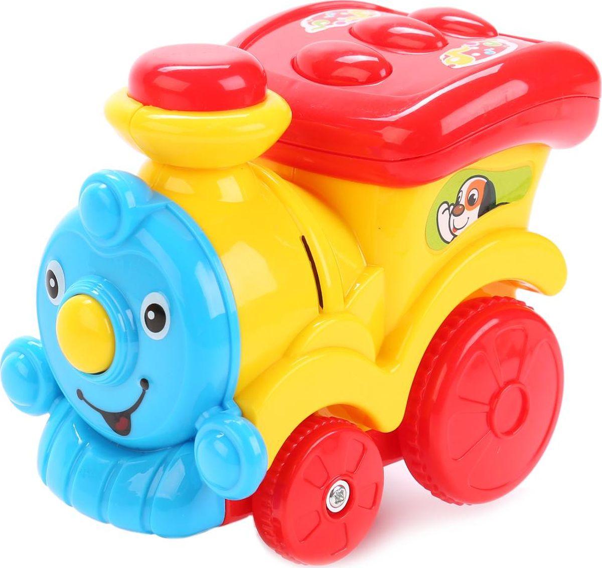 Умка Развивающая игрушка Паровозик музыкальный развивающая игрушка музыкальный молоток happy baby magic hammer звук