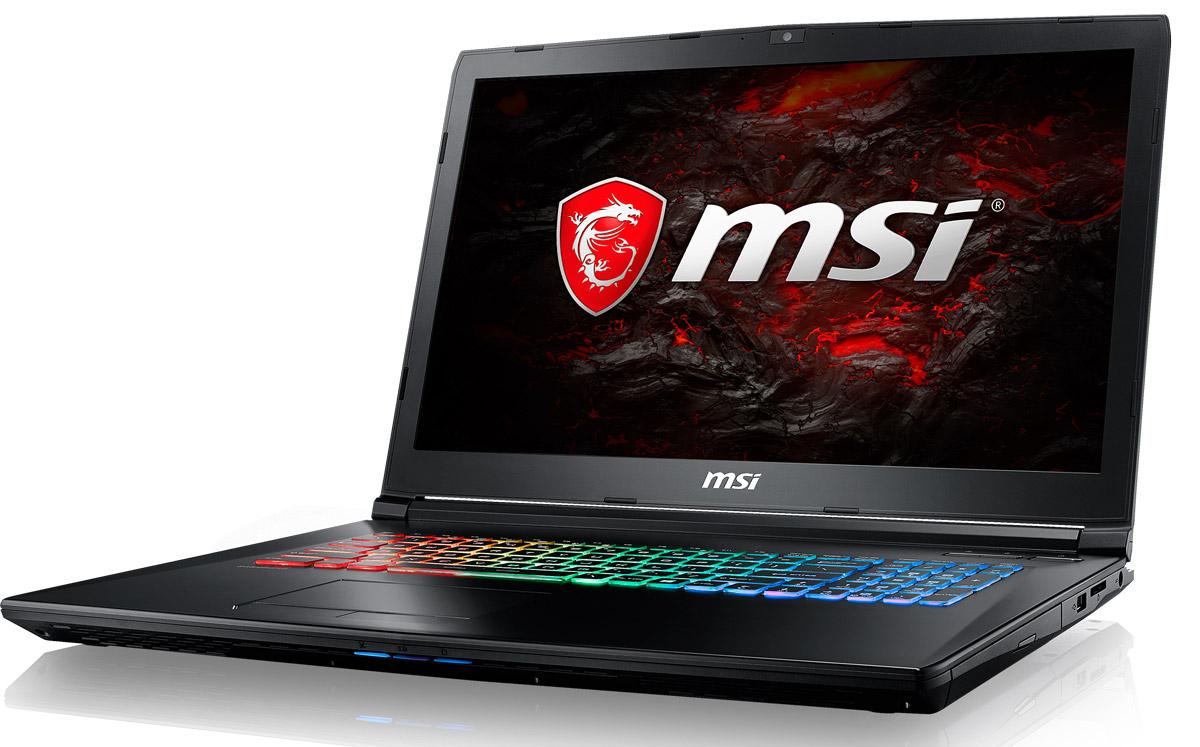 MSI GP72VR 7RFX-476RU Leopard Pro, BlackGP72VR 7RFX-476RUMSI GP72VR 7RFX Leopard Pro - это мощный ноутбук, который адаптирован для современных игровых приложений. Стильный шлифованный алюминиевый корпус прекрасно подчёркивает эстетику и мощь этой игровой машины.По ожиданиям экспертов, производительность новой GeForce GTX 1060 должна на 40% превзойти показатели серии GTX 900M. Инновационная архитектура охлаждения Cooler Boost и игровые возможности ноутбуков MSI Gaming позволили раскрыть весь потенциал видеокарты NVIDIA GeForce GTX 1060. Функция One click to VR полностью погрузит вас в виртуальную среду благодаря абсолютно плавному геймплею. Высокие FPS в самых требовательных тайтлах делают ноутбуки MSI Gaming настоящими крушителями мифов об исключительной производительности десктопов.Седьмое поколение процессоров Intel Core серии H обрело более энергоэффективную архитектуру, продвинутые технологии обработки данных и оптимизированную схемотехнику. Производительность Core i7-7700HQ по сравнению с i7-6700HQ выросла в среднем на 8%, мультимедийная производительность - на 10%, а скорость декодирования/кодирования 4K-видео - на 15%. Аппаратное ускорение 10-битных кодеков VP9 и HEVC стало менее энергозатратным, благодаря чему эффективность воспроизведения видео 4K HDR значительно возросла.Запускайте игры быстрее других благодаря потрясающей пропускной способности PCI-E Gen 3.0x4 с поддержкой технологии NVMe на одном устройстве M.2 SSD. Используйте потенциал твердотельного диска Gen 3.0 SSD на полную. Благодаря оптимизации аппаратной и программной частей достигаются экстремальный скорости чтения до 2200 МБ/с, что в 5 раз быстрее твердотельных дисков SATA3 SSD.Вы сможете достичь максимально возможной производительности вашего ноутбука благодаря поддержке оперативной памяти DDR4-2400, отличающейся скоростью чтения более 32 Гбайт/с и скоростью записи 36 Гбайт/с. Возросшая на 40% производительность стандарта DDR4-2400 (по сравнению с предыдущим поколением, DDR3-1600) поднимет ва