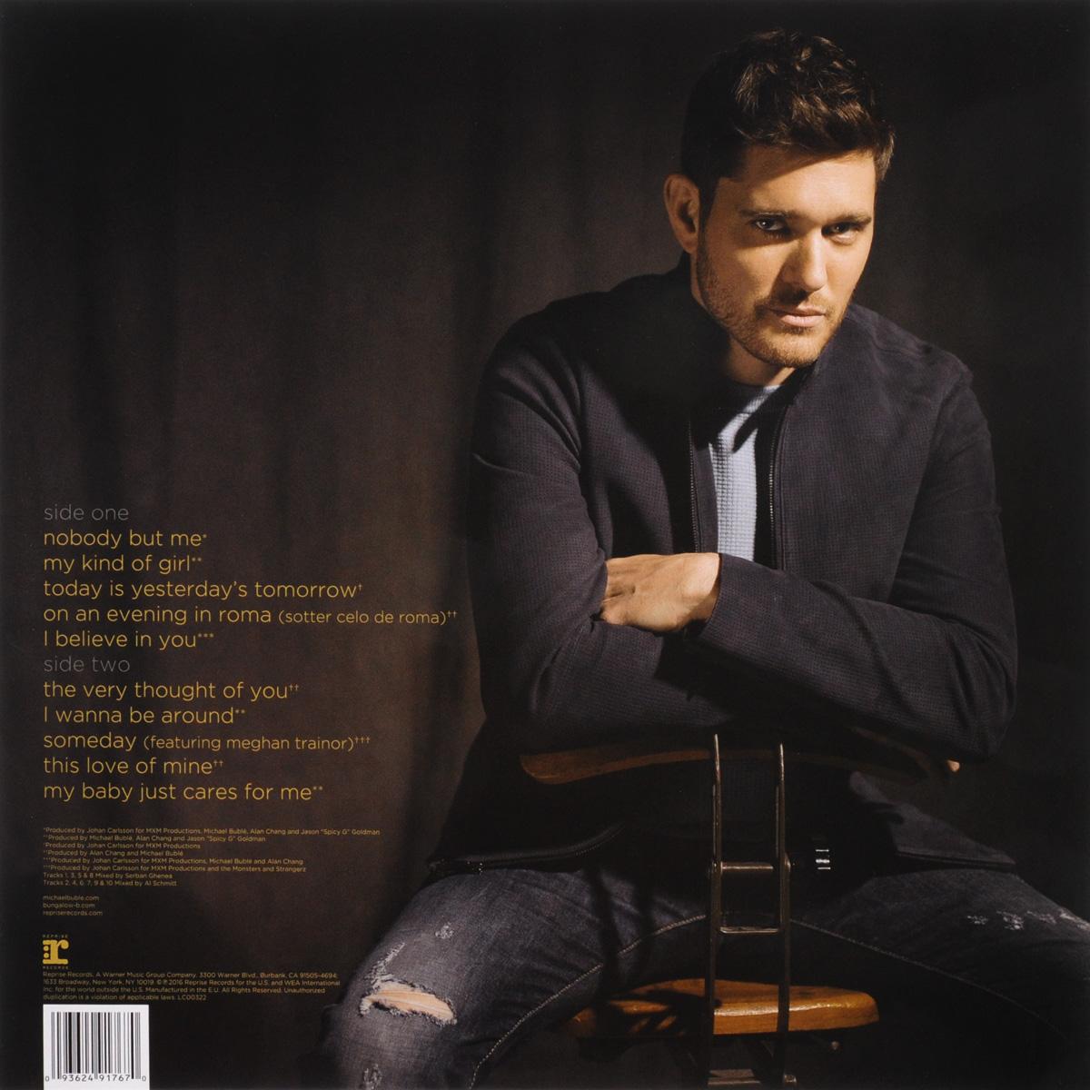Michael Buble.  Nobody But Me (LP) ООО