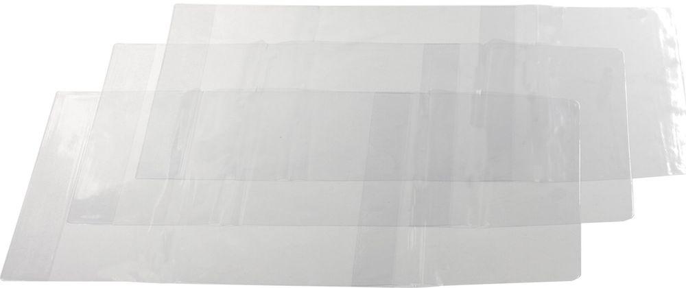Пифагор Обложка для учебника формат А4 5 шт225772Идеально прозрачные обложки отлично предохраняют тетради и учебники от внешних воздействий, тем самым увеличивая срок их службы и сохраняя прекрасный внешний вид.