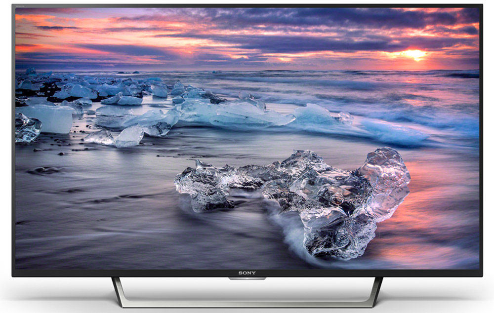 Sony KDL-49WE755, Black телевизор