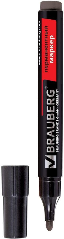 Brauberg Маркер перманентный Contract цвет черный 150465 calligrata маркер перманентный цвет черный
