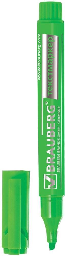 Brauberg Маркер Energy цвет зеленый150483Маркер Brauberg Energy предназначен для выделения текста на бумаге любого типа, включая факс-бумагу.Заправлен светоустойчивыми чернилами, которые не выцветают даже на открытом солнце и не заметны при передаче текста по факсу.Прочный износоустойчивый наконечник скошенной формы позволяет проводить линии различной толщины.Ширина линии письма: 1-3 мм.Нестираемый.