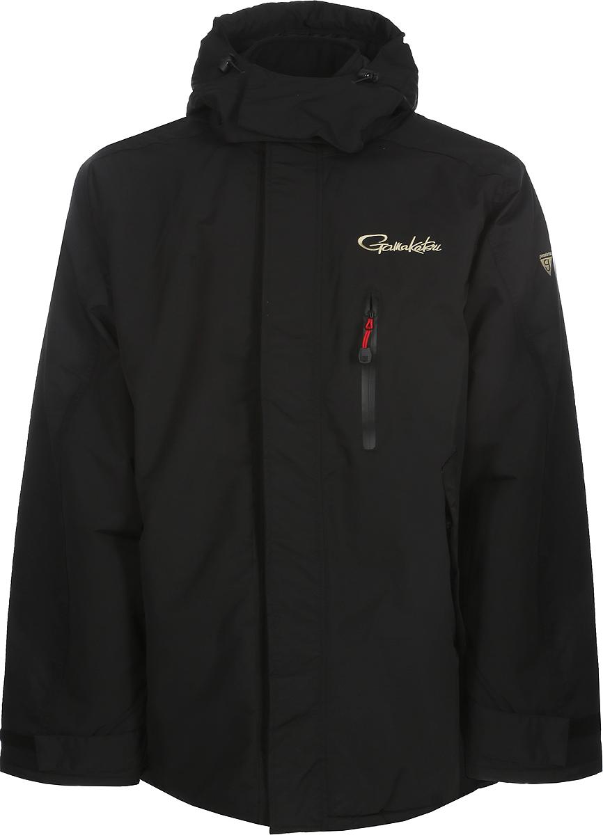 Куртка мужская рыболовная Gamakatsu, цвет: черный. 0037730. Размер XXXL (56-58)0037730