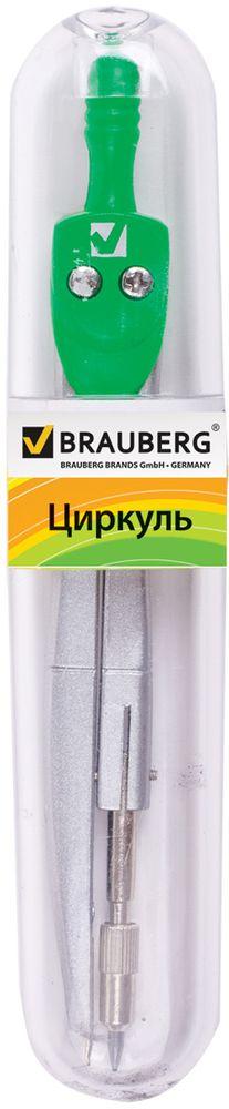 Brauberg Циркуль Klasse 12,5 см210314Качественный металлический циркуль Brauberg предназначен для учеников младших и средних классов.