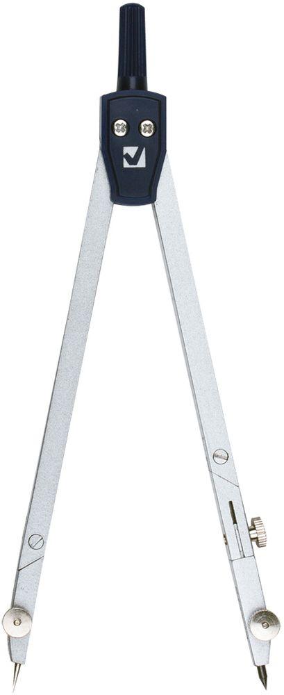 Brauberg Циркуль Passe 15,5 см210317Качественный металлический циркуль Brauberg предназначен для студентов и профессионалов. Циркуль с двумя сгибаемыми ножками и подстраиваемой иглой упакован в ПВХ-чехол с подвесом.